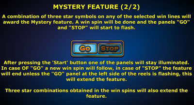 5 Line Multiplay Mystery Feature