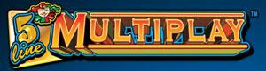 5 Line Multiplay Schriftzug