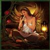 Acorn Pixie Fee spielt Floete