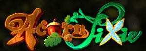 Acorn Pixie Schriftzug