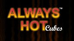Always Hot Cubes Schriftzug