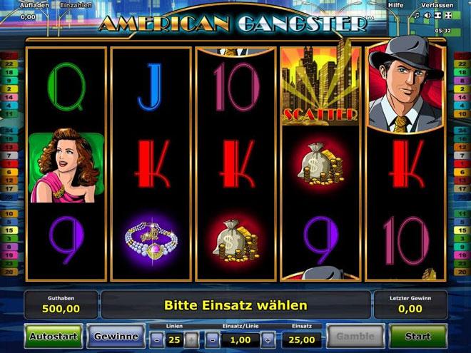American Gangster Novoline Spiel