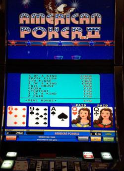 American Poker II Automat