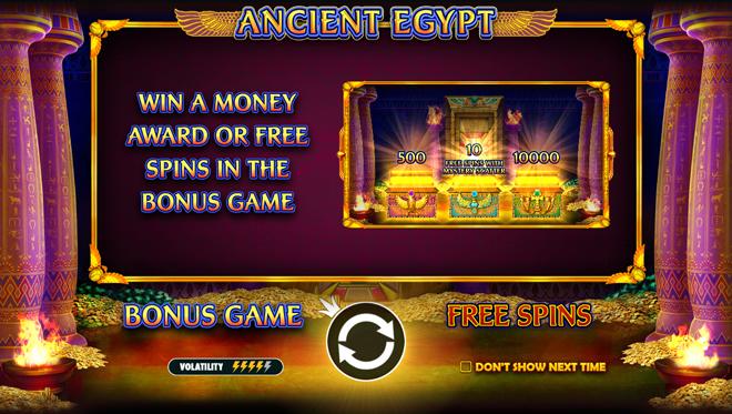 Ancient Egypt Besonderheit