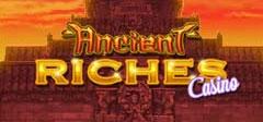 Ancient Riches Schriftzug