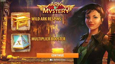 Ark Of Mystery Mystery Bonus