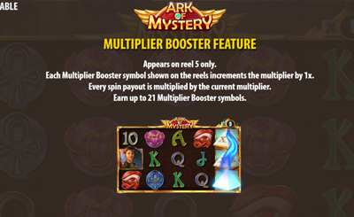 Ark Of Mystery Booster Feature