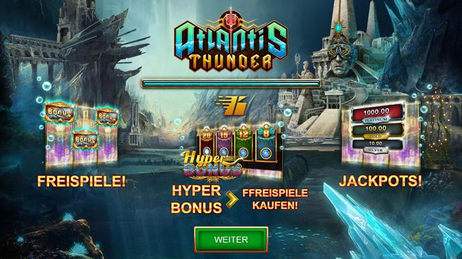 Atlantis Thunder Bonus