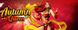 autumn queen banner medium