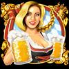 Beer Party Kellnerin