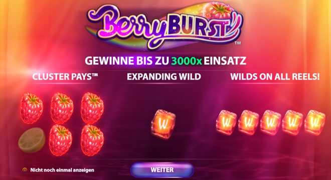 Berry Burst Bonus