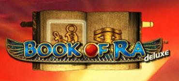 Book of Ra deluxe Schriftzug