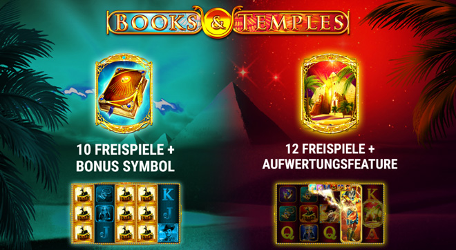 Books and Temples Bonus