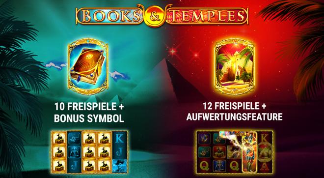 Books and Temples Bonus