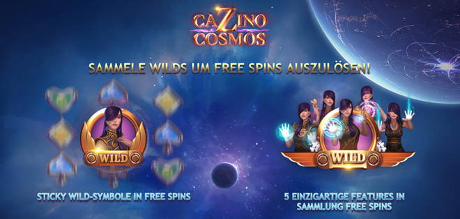 Cazino Cosmos Bonus