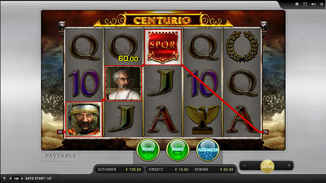 centurio spielen