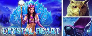 crystal heart banner medium