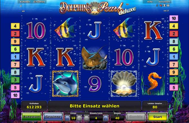 Online Spiele Casino Dolphins Pearl Deluxe Ohne Anmeldung Spielen Novoline