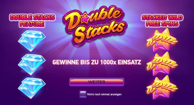 Double Stack Bonus