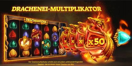 Dragons Fire Drachenei Multiplikator