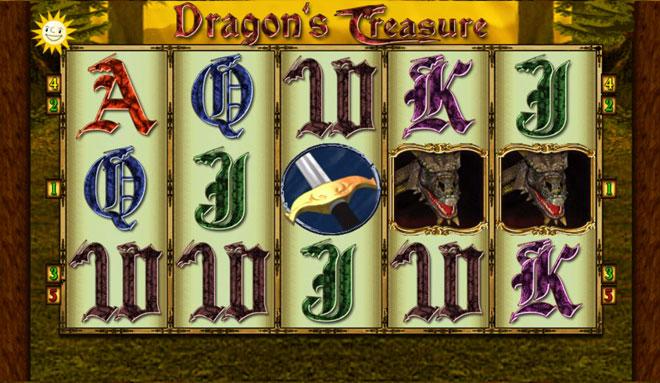 Dragons Treasure Merkur Spiel