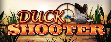 Duck Shooter Schriftzug