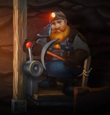 Dwarf Mine Hauptfigur
