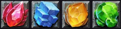 Dwarf Mine Sammelbare Symbole