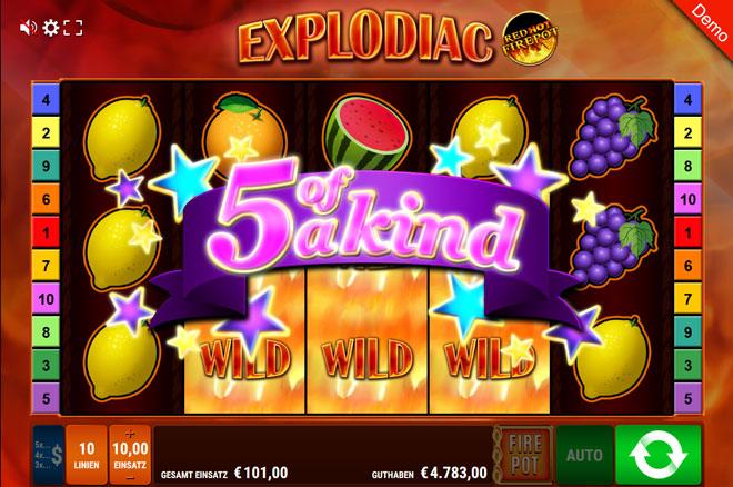 Explodiac Big Win