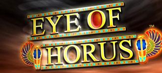 eye of horus schriftzug