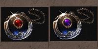 Frozen Inferno Amulett