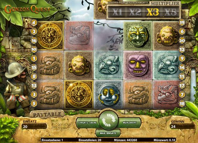 Gonzos Quest Online Slot