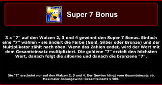 happy fruits super 7 bonus