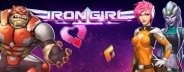 iron girl banner medium