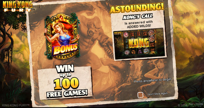 King Kong Fury Bonus