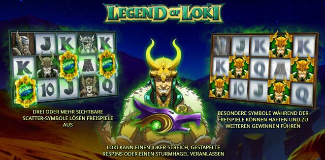 Legend of Loki Bonus