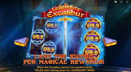 Legendary Excalibur Besonderheiten