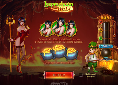 Leprechaun Goes To Hell Bonus