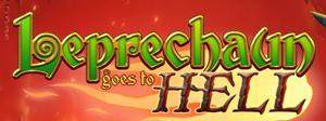 Leprechaun Goes To Hell Schriftzug