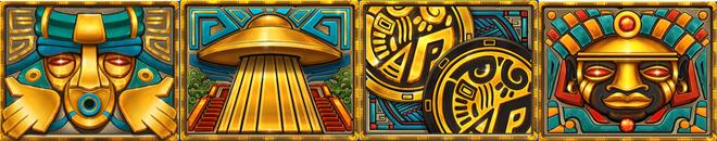 Mayan Gods Bonus Symbole