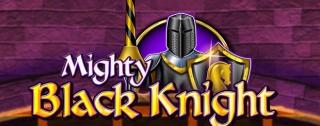 mighty black knight banner medium