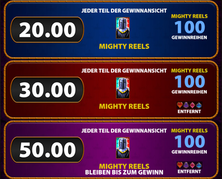 Mighty Black Knight Big Bet Spiele