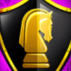 Mighty Black Knight Logo Symbol