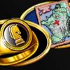 Mighty Black Knight Siegelring Landkarte