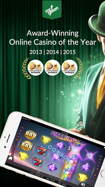 Mr Green Casino Mobile App