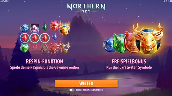 Northern Sky Bonus