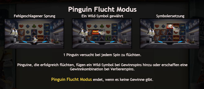 Penguin City Flucht Modus