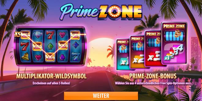 Prime Zone Besonderheiten