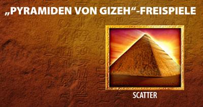 Pyramids of Giza Freispiele