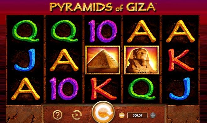 Pyramids of Giza Vorschau